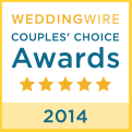 Wedding Wire Couples Choice Award 2014